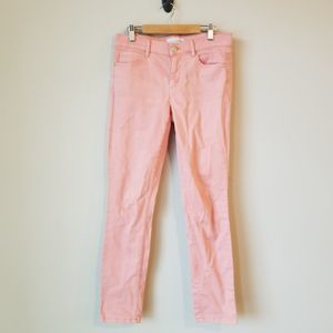 LOFT Modern Skinny Crop Jeans Pink 26/ 2